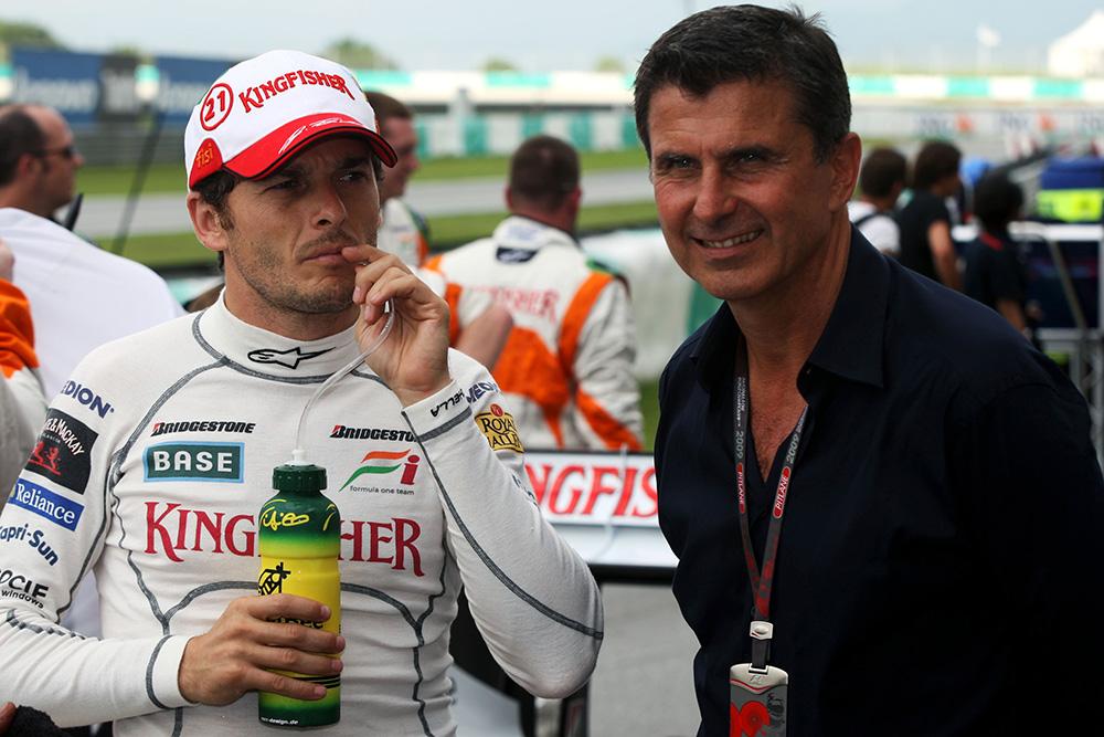 Enrico signed Giancarlo Fisichella